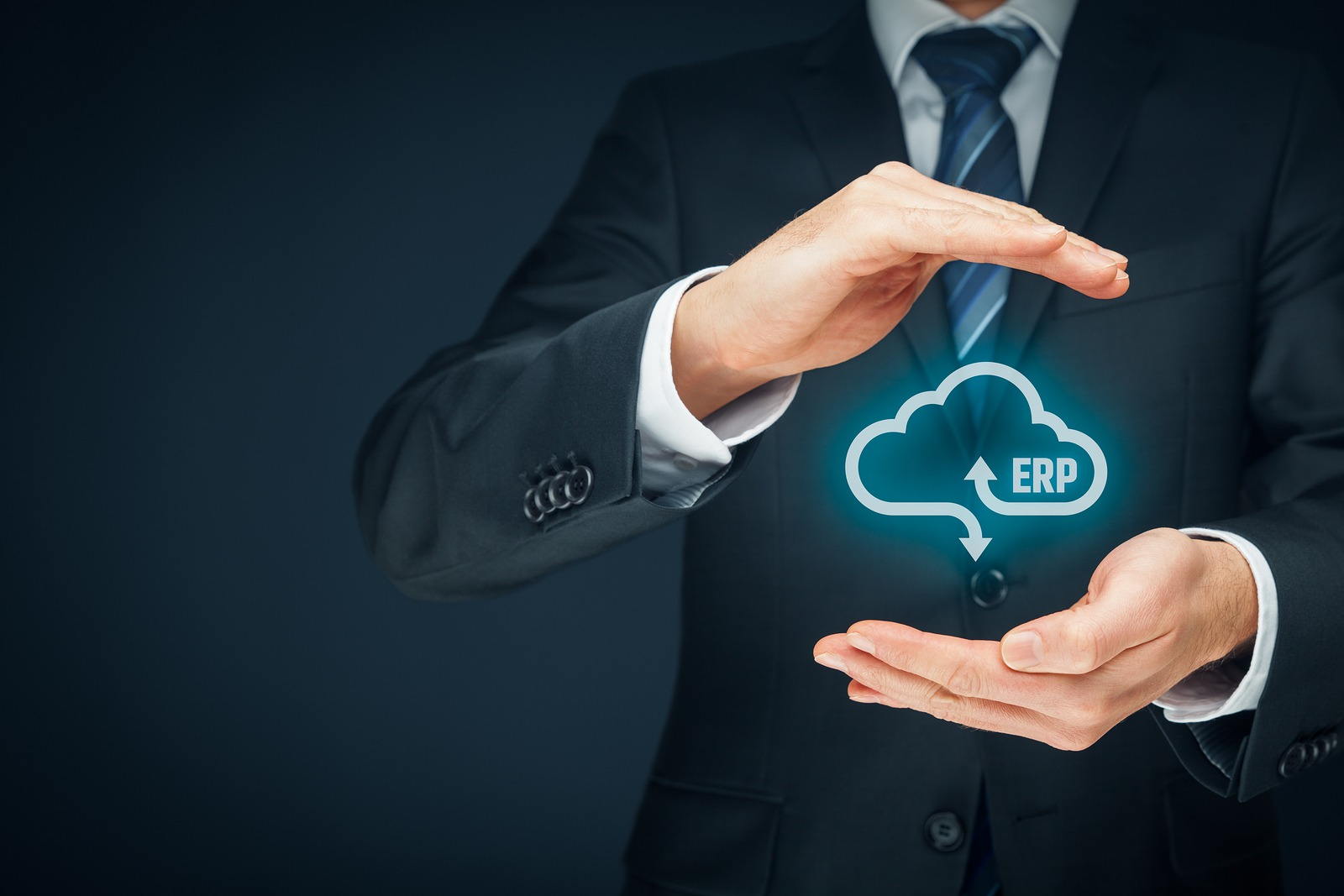 Cloud ERP illustration