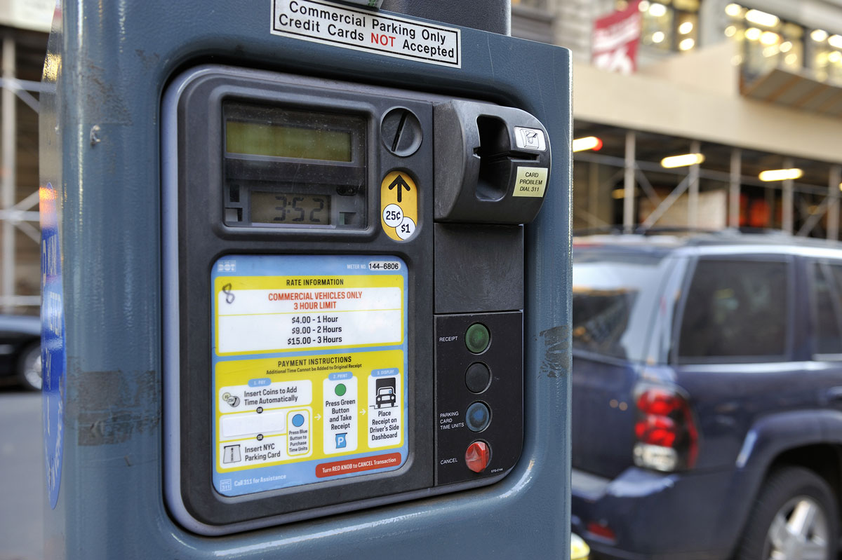 Parking meter illustrating ERP government case study