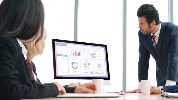 Picking the right ERP software solutions in a meeting